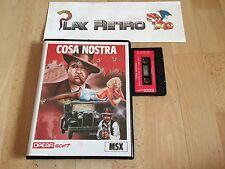 MSX COSA NOSTRA COMPLETO VERSION ESPAÑOLA