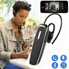 New Wireless Bluetooth 4.0 Stereo In-Ear Headset Earphone Earpiece Single Earbud