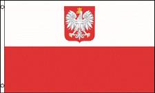3x5 Poland Polska Eagle 3'x5' House Banner grommets Super Polyester