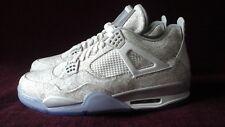2015 Nike Air Jordan 4 Retro Laser White Chrome 705333-105 Size 13