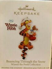 2012 Hallmark Ornament ~ Winnie the Pooh Bouncing Through The Snow Qxd1061 Nib