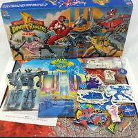 Mighty Morphin Power Rangers Board Game Vintage 1993 Milton Bradley 4429 Saban