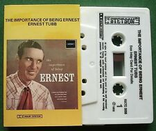Ernest Tubb Importance of Being Ernest Stetson HATC 3006 Cassette Tape - TESTED
