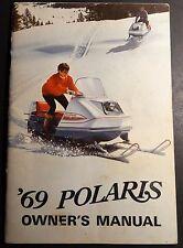 Vintage 1969 Polaris Snowmobile Owners Manual (770)