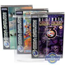 Saturn Game Box Protectors for Sega Protective 0.5mm 0.4mm Plastic Display Cases
