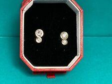 "🌸 Brighton Silver Crystal ""Infinity Sparkle"" Post Earrings (E25) NWT 🌸"