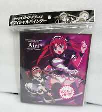 Megahouse Storage Binder Queen's Blade Alleyne & Airy 4 pocket pages