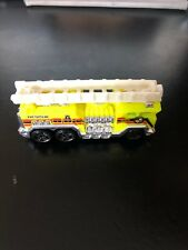 Hot Wheels, 5 Alarm ~ Yellow, 2010 Race World City ~ Fire Truck