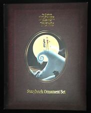NIGHTMARE BEFORE CHRISTMAS STORY BOOK ORNAMENT SET 2004
