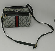 Gucci VIntage Crossbody Bag  Shoulder  GG Monogram Accessorie Collection  Italy