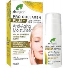 DR ORGANIC Pro Collagen Plus+ - Anti Aging Moisturiser 50ml (3 Varieties)