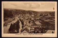 61541 AK Neuhausen Erzgebirge Bahnhof Blick nach Rauschenbach um 1920