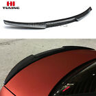 For BMW 3 Series E92 Carbon Fiber Spoiler Boot Lip Rear Trunk Wing Coupe M4Style