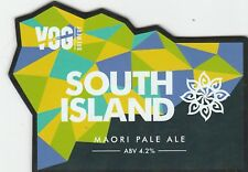 VALE OF GLAMORGAN BREWERY - SOUTH ISLAND MAORI PALE ALE - PUMP CLIP FRONT