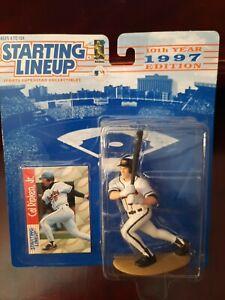 Kenner Starting LineUp Cal Ripkin Jr. Baltimore Orioles 1997 Figure & Card NIB