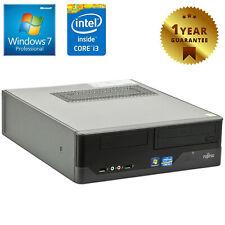 PC COMPUTER DESKTOP RICONDIZIONATO FUJITSU E400 CORE i3 4GB 250GB WINDOWS 7 PRO