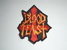 BLOOD FEAST THRASH METAL EMBROIDERED PATCH