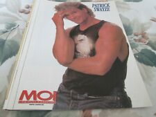 PATRICK SWAYZE   POSTER COLOR   8  BY 11  1991