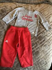 Baby/Toddler Sz 12 Months Adidas Sports/Team Apparel St. Louis Cardinals Outfit
