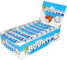 BOUNTY MILK CHOCOLATE Full Box Of 24 Bars 24 x 57g 2oz