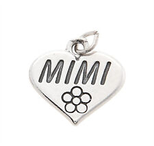 925 STERLING SILVER MIMI GRANDMOTHER CHARM/PENDANT