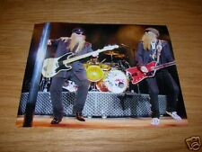 Zz Top Live 8x10 Concert Photo Combo #4 Billy & Dusty