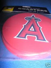 1 - 4 Pack Vinyl Drink Coasters - Anaheim Angels