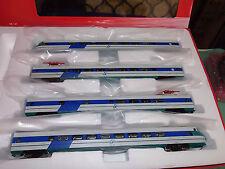 Rivarossi HR2577 ETR 401 4 elementi, livrea XMPR verde/blu/bianco FS