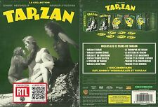 RARE / TARZAN avec JOHNNY WEISSMULLER ( COFFRET COLLECTOR 7 DVD - 12 FILMS) NEUF
