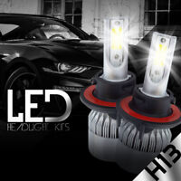 XENTEC LED HID Headlight Conversion kit H13 9008 6000K for 2005-2016 Ford F-350
