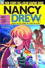 Monkey-Wrench Blues (Nancy Drew Graphic Novels: Girl Detective #11)-ExLibrary