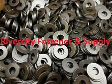 "(50) 3/8 Inch Grade 8 USS Flat Washers Plain / 3/8"" Thru Hardened Washer"