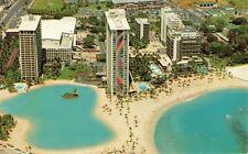Postcard Hilton Hawaiian Village Hawaii