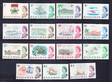 BAHAMAS QEII 1967 SG295/309 set of 15 - decimal currency unmounted mint. Cat £35
