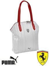 Puma Ferrari LS Shopper Bag White ( Ferrari official licensed series )