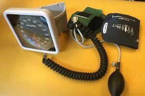 Welch Allyn 7670-01S aneroid sphygmomanometer w/2 cuffs.  GC, guaranteed.