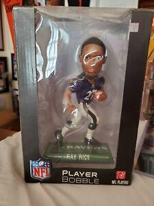Ravens Ray Rice Large Players Bobblehead