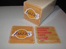 100 Los Angeles Lakers Hardwood Version Basketball NBA Beer Coasters Pint Glass