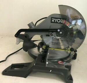 RYOBI TS1346 10 Inch Compound Miter Saw with LED Light, GRM