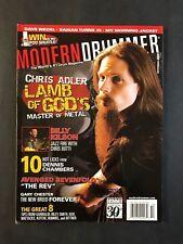 Modern Drummer Magazine October 2006 Lamb of God's Chris Adler