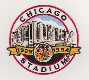 Chicago Stadium Final Season Patch Chicago Blackhawks