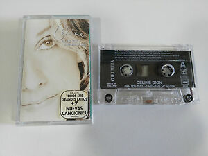 Celine Dion all the Way A Decade of Song 1999 Cinta Tape Cassette K7 Holland Ed