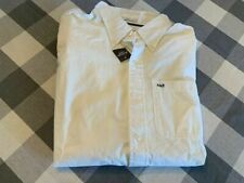 Mens Abercrombie and Fitch white button down shirt size X Large NWT