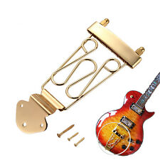 New Trapeze 6 String Guitar Tailpiece Wired Frame for Jazz Archtop Guitar Gold