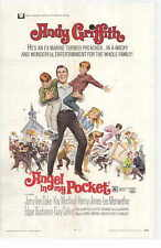 ANGEL IN MY POCKET Movie Promo POSTER Andy Griffith Jerry Van Dyke Kay Medford
