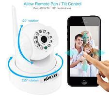 KKMOON 0.3MP Camera PnP P2P Pan Tilt IR WiFi Wireless Network IP Webcam W-US