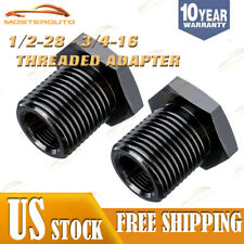 2pcs 1/2x28 to 3/4x16 Barrel Thread Adapter 5.56 oil filter