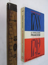 RIVOLUZIONE FRANCESE SALVEMINI GAETANO 1788 1892 FELTRINELLI 1964 SC129