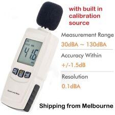 BENETECH Digital Sound Level Meter Noise Decibel Monitor library airport hospita