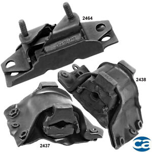 3pcs Manual Trans /& Engine Motor Mount Set Fits 1967-1968 FORD LTD BY08